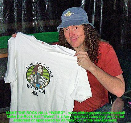 Al and shirt
